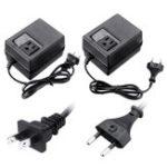 New AC 220V/240V To AC 110V/120V 300W Electronic International Travel Voltage Converter Power Converter Travel Transformer