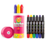 New JoanMiro	Rotating Crayon Washable Brush Set Pastel 6 Color 12 Color 24 Color Art Teaching Aid Painting