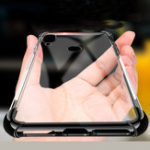 New Bakeey Transparent Shockproof Plating Soft TPU Protective Case For Xiaomi Redmi Note 7 / Redmi Note 7 Pro
