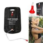 New 20L Outdoor Portable Camping Shower Bag Water Bladder Solar Heating Pipe Pouch Beach Travel