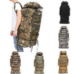 New 100L Oxford Waterproof Backpack Mountaineering Bag Camouflage Outdoor Travel Bag