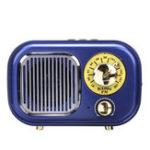New M-205BT 87-108MHz FM Radio bluetooth USB Speaker TF Card MP3 Music Player