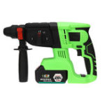 New 128VF 16800mAh Brushless Electric Cordless Impact Hammer High Torque Drill with Rechargeable Battery