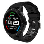 New Bakeey Watch3 1.22′ Full Round Screen Heart Rate IP68 Custom Watch Face 30Days Standby Smart Watch