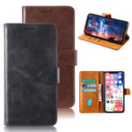 New Bakeeey Flip Card Holster PU Leather Protective Case For Doogee N10