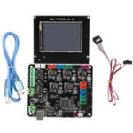 New MKS BASE V1.6 Integrated Motherboard with MKS TFT28 Color Touch Screen Kit for 3D Printer