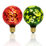 New Kingso E27 G95 LED Light Bulb Christmas Edison Decorative Lamp for Holiday Home Indoor Use AC85-265V