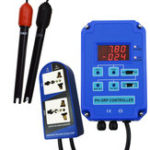 New Digital PH ORP Meter 2 In 1 Controller Monitor w/ Output Power Relay Control Electrode Probe BNC for Aquarium Hydroponics Plants