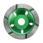 New 80mm Diamond Segment Grinding Cup Wheel Disc Grinder Concrete Granite Stone Cutter