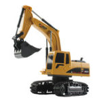 New Mofun 1022 40Mhz 1/24 5CH RC Excavator Car Vehicle Models Toy