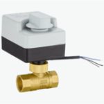 New TMOK AC 220V 1/2″ 3/4″ 1″ 1-1/4″ Motorized Electric Brass Ball Valves 2 Way 3 Wires Full Port Valve