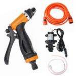 New 70W 12V Portable Electric High Pressure Car Washer Self-priming Pump