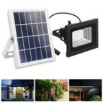 New 50 LED Solar Flood Light Outdoor Security Spotlight Garden Yard Path Wall Lamp