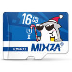 New Mixza Christmas Shark Limited Edition 16GB U1 Class 10 TF Micro Memory Card for DSLR Digital Camera TV Box MP3