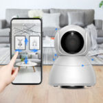 New Xiaovv Q8 HD 1080P 360° Panoramic IP Camera Infrared Night Vision AI Mo-tion Detection Machine Panoramic Camera from xiaomi youpin