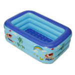 New Inflatable Swimming Pool Outdoor Children Bath Pool Kids Paddling Bathtub-1.3M/1.5M