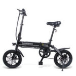 New Samebike YINYU14 36V 250W Smart Bicycle 36V 7.5Ah Folding Moped Electric Bike E-bike EU Plug For Cycling Camping Travel