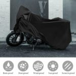 New XXL Waterproof Motorcycle Cover Outdoor 210D Oxford Protection For Honda/Yamaha