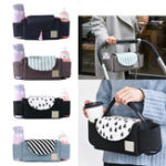 New Outdoor Travel Baby Strollers Storage Bag Organizer Pram Buggy Pushchair Cup Diaper Hanging Pouch