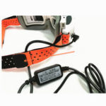 New 5pcs Fatshark FPV Goggles Head Strap Replacement Orange Lycra Fabric for FPV RC Drone
