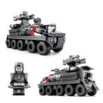 New SEMBO 107003 The Wandering Earth Series Personnel Carrier Transport Truck 246pcs Blocks Toys