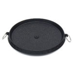 New 12 Inch Korean Barbecue Nonstick Plate Grill Pan Maifan Stone Round Cooker BBQ Tray