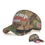 New Trump Hat 2020 Keep America Great Camo MAGA Cap