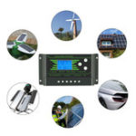New PWM 10/20/30A 12V/24V Auto Solar Charge Controller LCD Dispaly Battery Charge Solar Controller Dual USB Port 2.5A with Backlight
