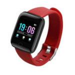 New Bakeey 1.3′ Dynamic UI HR Blood Pressure Social APP Notification Anti-lost Alarm Smart Watch