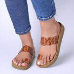 New Women Casual Clip Toe Platform Slippers