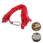New 30M Rope with Hook For Neodymium Recovery Salvage Magnet  Fishing Base Deep Sea