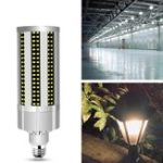 New AC100-277V E27 60W No Strobe Fan Cooling 312LED Corn Light Bulb Without Lamp Cover for Home Decor