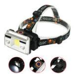 New XANES® SYT005 1100LM Headlamp 4 Modes Cycling Night Warning Light Camping Hunting Portable Emergency Lantern 18650