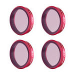 New PGYTECH OSMO ACTION Filter ND Set NDPL 8 16 32 64 Lens Professional Accessories P-11B-019 For DJI Sport Camera