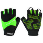 New BOODUN Half-Finger Riding Glove Outdoor Motorcycle Riding Cycling Protective Finger Gloves