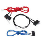 New 3Pcs UM2 Standard Version Elevated Edition 3 Color Limit Switch Endstop Switch Kit for 3D Printer