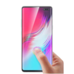 New Bakeey 3D Curved Edge Ultrasonic Fingerprint Unlock tempered glass Screen Protector for Samsung Galaxy S10 5G 2019