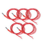 New Anet® 5Pcs 24V 40W 1.5m Single End Cartridge Heater Heating Tube for RepRap Prusa i3 A8/A8 Plus 3D Printer