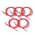 New Anet® 5Pcs 24V 40W 1.5m Single End Cartridge Heater Heating Tube for RepRap Prusa i3 A8/A8 Plus 3D Printer