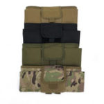 New Nylon Outdoor Tactical Waist Bag Tactical Vest Storage Bag Waterproof Molle Camouflage Bag