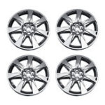 New 4PCS Car 20″ Hubcaps Silver Double thickness Plating Cap Cover For Cadillac SRX 2010-2012 Auto Refit Accessorie