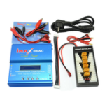 New iMAX B6AC 80W 6A Dual Balance Charger Discharger With XT60 T Plug Parallel Charging Power Adapter Board