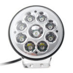 New 5 inch 9V-32V 80W 12V 9 LED Work Light Spot Round Driving Fog Lamp Motorcycle Offroad ATV 4WD