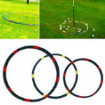 New 2/3/6ft Portable Eyeline Golf Target Circle Sports Swing Training Aid Practice Golf Tool Accessories