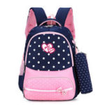New 22L Cute Kids Children Girl Backpack Waterproof Nylon School Book Rucksack With Pencil Bag