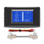 New PZEM-015 Battery Tester DC Voltage Current Power Capacity Internal And External Resistance Residual Electricity Meter With 100A Shunt