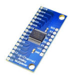 New ADC CMOS CD74HC4067 16CH Channel Analog Digital Multiplexer Module Board For Arduino