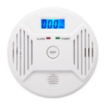 New Digital LCD CO Carbon Monoxide Smoke Detector Alarm Poisoning Gas Warning Sensor