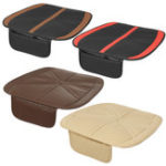 New Universal PU Leather Breathable Cushion Pad Car Front Seat Mat Protector Cover Organizer