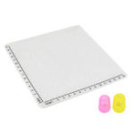 New A-Type White Silicone Design Mat with Basic Template + Insulation Silicone Finger Caps Kit 3D Printing Pen Drawing Tools